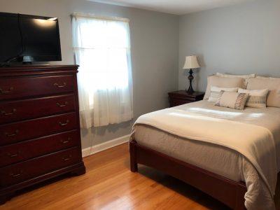 Rental House Master Bedroom
