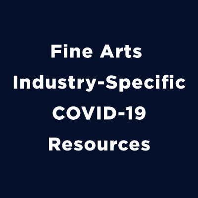fine arts industry-specific covid-19 resources