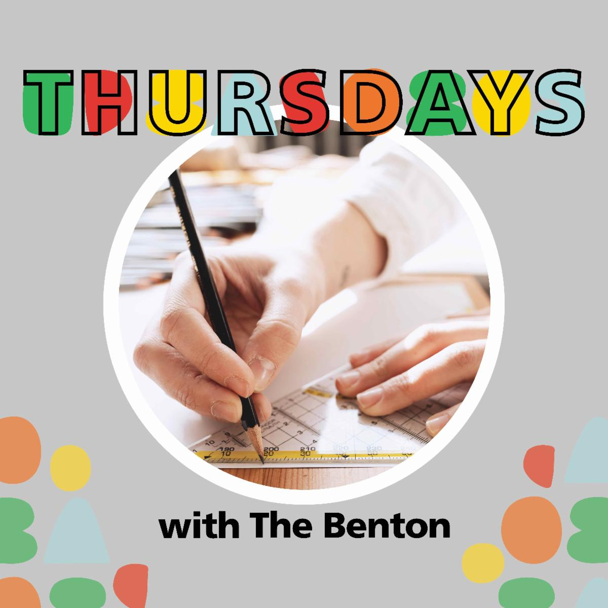 Thursdays with the Benton logo